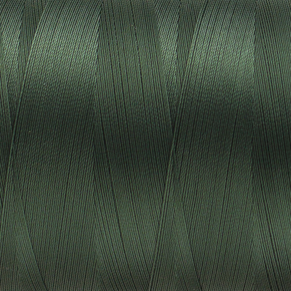 MQ68 - 40wt All Purpose Polyester Dark Olive Green Thread - wonderfil-online-uk