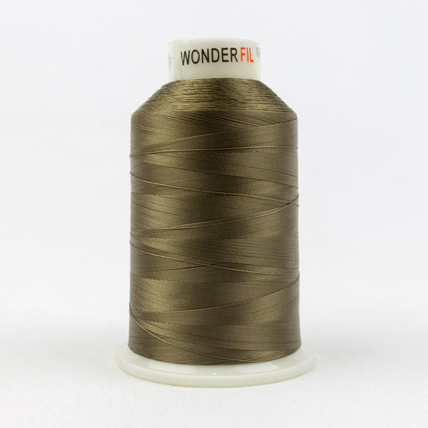 MQ69 - 40wt All Purpose Polyester Army Green Thread - wonderfil-online-uk