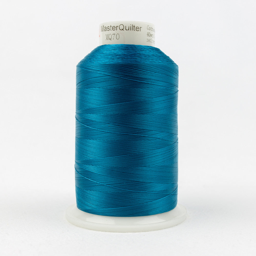 MQ70 - 40wt All Purpose Polyester Mediterranean Blue Thread - wonderfil-online-uk