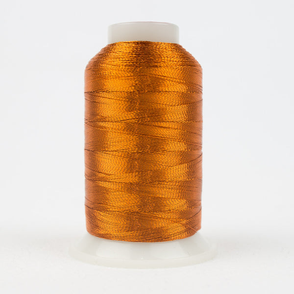 MT7713 - 40wt Metallic Light Rust Thread - wonderfil-online-uk