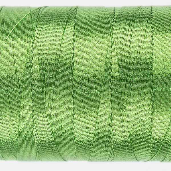 MT7716 - 40wt Metallic Lime Thread - wonderfil-online-uk