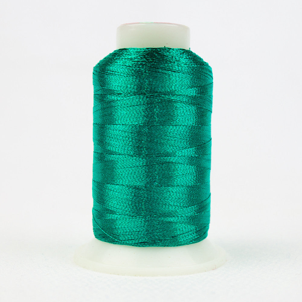 MT7718 - 40wt Metallic Sea Green Thread - wonderfil-online-uk
