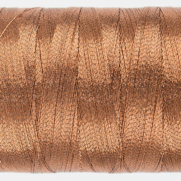 MT7721 - 40wt Metallic Light Copper Thread - wonderfil-online-uk