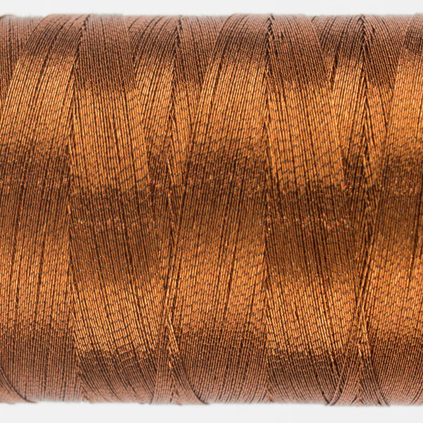 MT7722 - 40wt Metallic Deep Copper Thread - wonderfil-online-uk