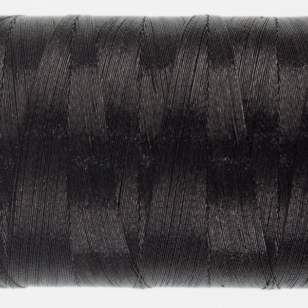 MT7726 - 40wt Metallic Black Thread - wonderfil-online-uk