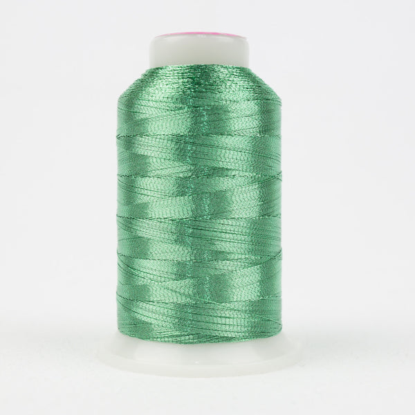 MT7728 - 40wt Metallic Mint Green Thread - wonderfil-online-uk