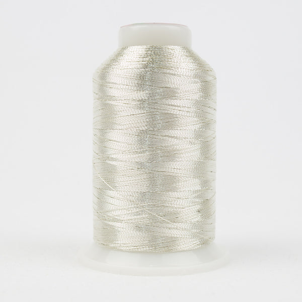 MT881 - 40wt Metallic Silver Thread - wonderfil-online-uk