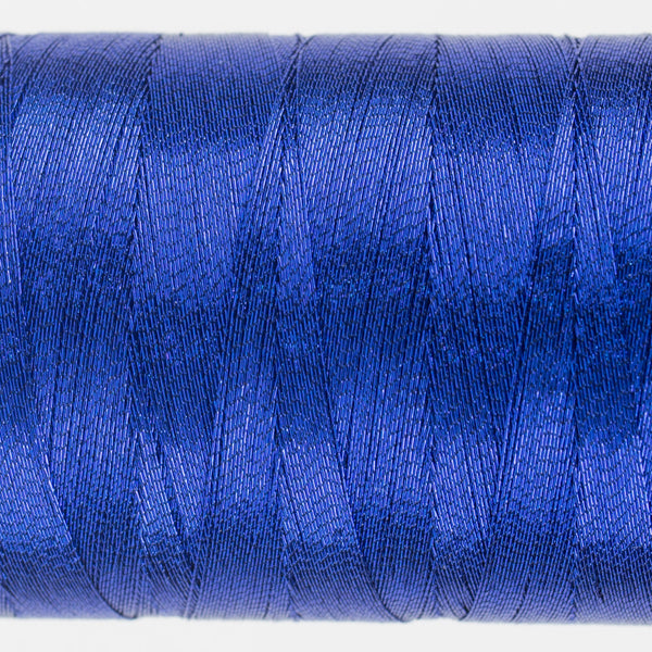 MT8828 - 40wt Metallic Blue Thread - wonderfil-online-uk