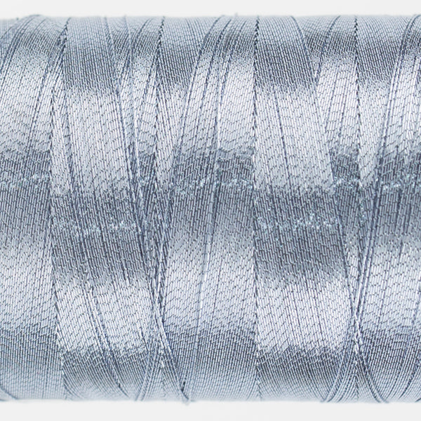 MT8831 - 40wt Metallic Ice Blue Thread - wonderfil-online-uk