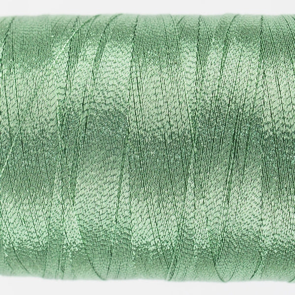 MT8840 - 40wt Metallic Ice Green Thread - wonderfil-online-uk