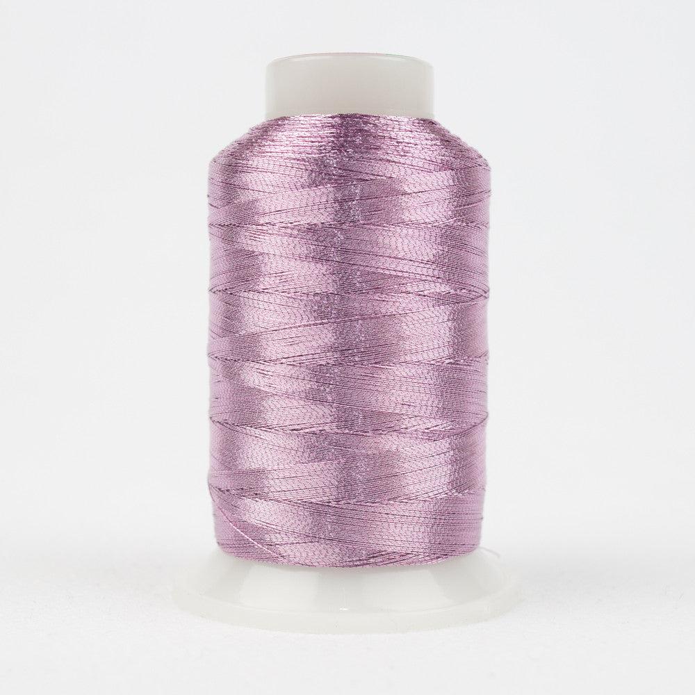MT8845 - 40wt Metallic Lilac Glaze Thread - wonderfil-online-uk