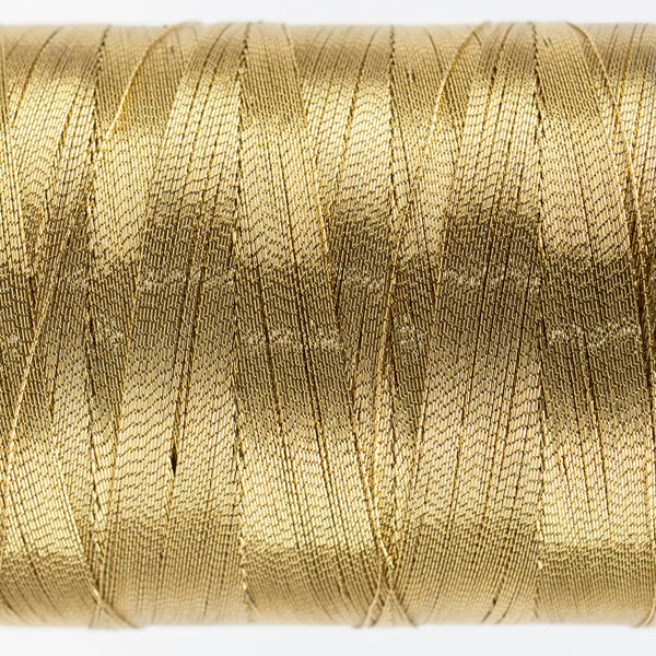 MT8847 - 40wt Metallic Burnished Gold Thread - wonderfil-online-uk