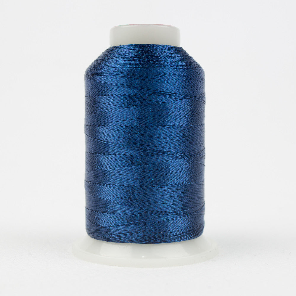 MT8850 - 40wt Metallic Dark Blue Thread - wonderfil-online-uk