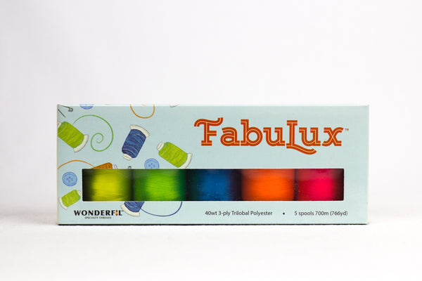 Fabulux 40wt Trilobal Polyester Packs - wonderfil-online-uk