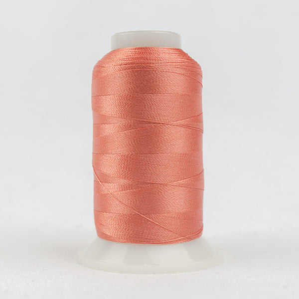P1012 - 40wt Trilobal Polyester Salmon Pink Thread - wonderfil-online-uk