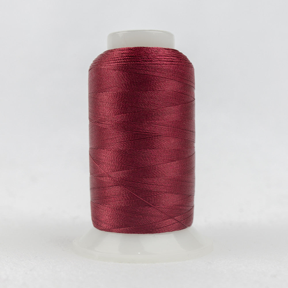 P1017 - 40wt Trilobal Polyester Dark Cherry Thread - wonderfil-online-uk