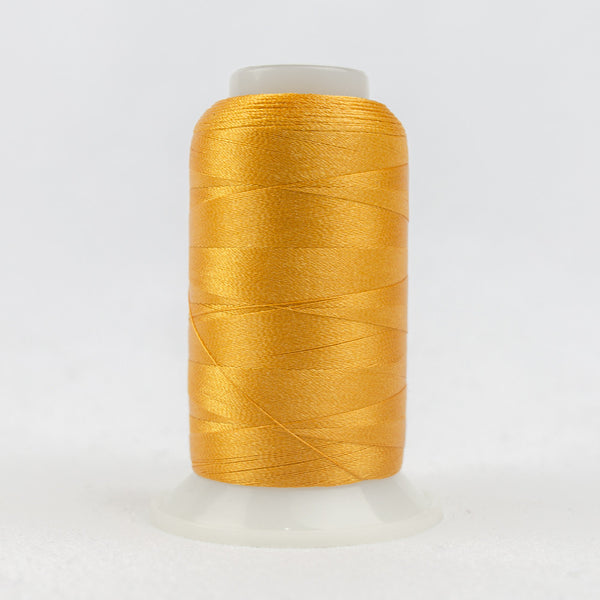 P1052 - 40wt Trilobal Polyester Curry Gold Thread - wonderfil-online-uk