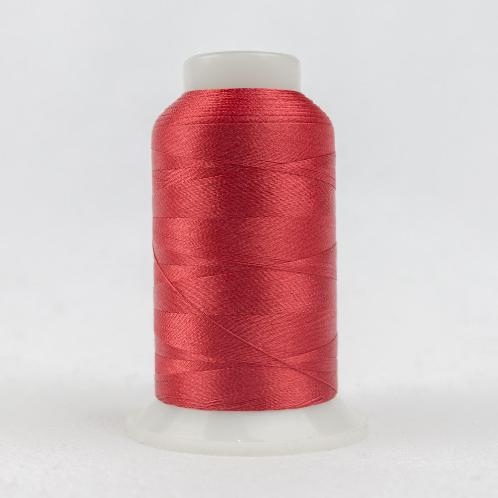 P1089 - 40wt Trilobal Polyester Coral Red Thread - wonderfil-online-uk