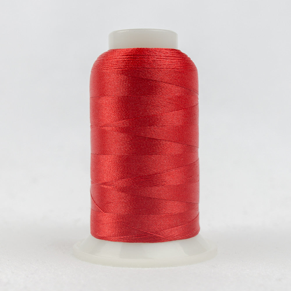 P1091 - 40wt Trilobal Polyester Satin Red Thread - wonderfil-online-uk
