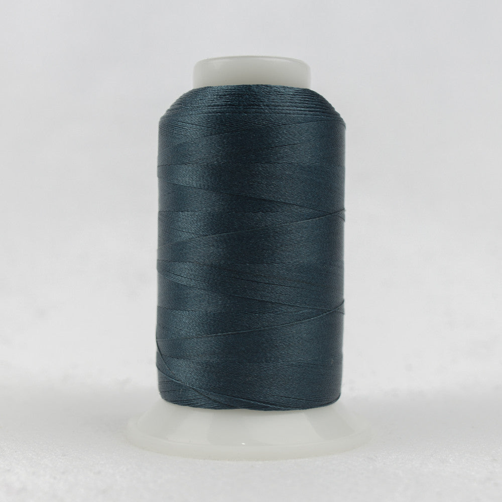 P2172 - 40wt Trilobal Polyester Dark Steel Blue Thread - wonderfil-online-uk