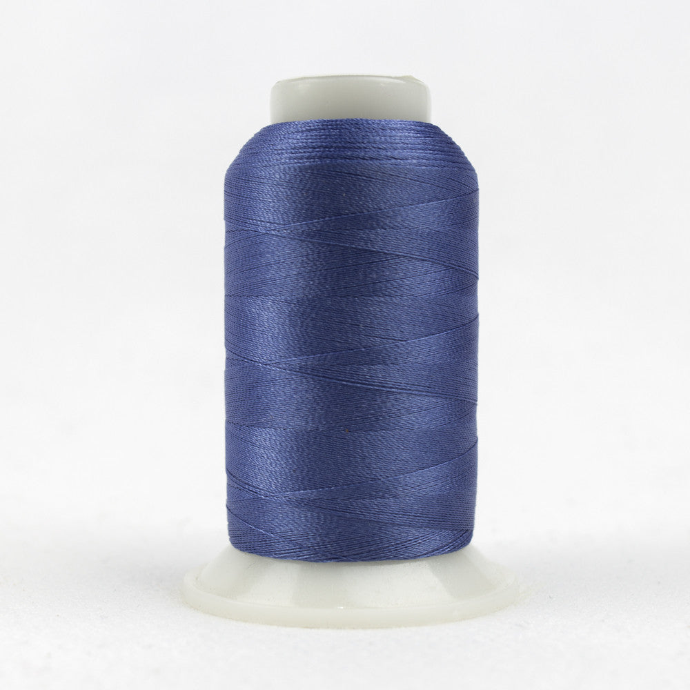 P2111 - 40wt Trilobal Polyester Twighlight Blue Thread - wonderfil-online-uk
