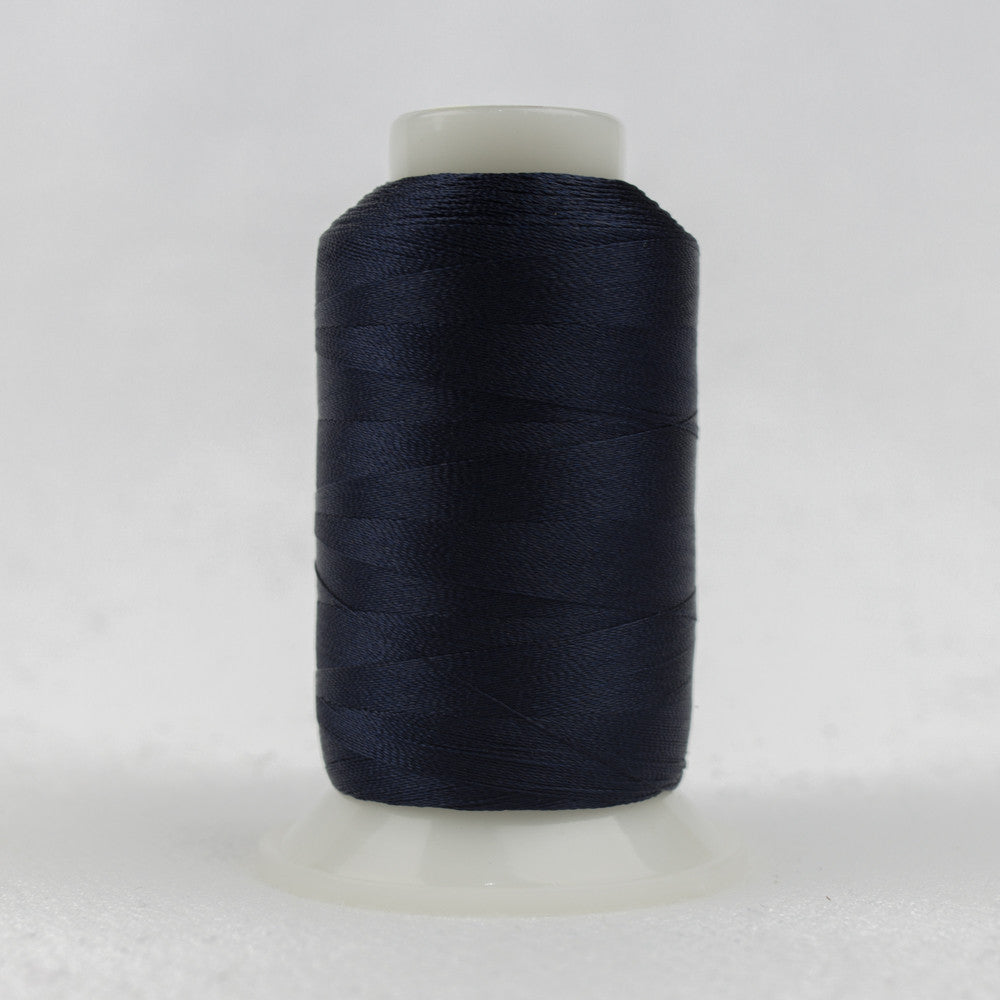 P2118 - 40wt Trilobal Polyester Midnight Thread Navy - wonderfil-online-uk
