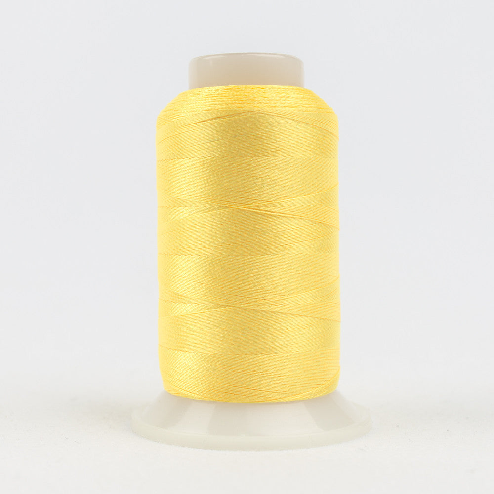 P3267 - 40wt Trilobal Polyester Warm Yellow Thread - wonderfil-online-uk