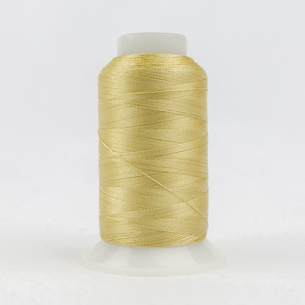 P3274 - 40wt Trilobal Polyester Light Gold Thread - wonderfil-online-uk