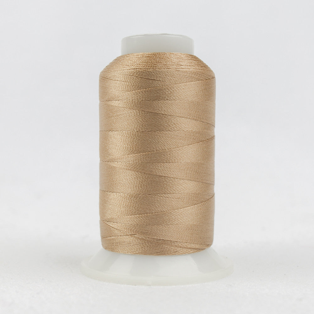 P4324 - 40wt Trilobal Polyester Brown Toast Thread - wonderfil-online-uk