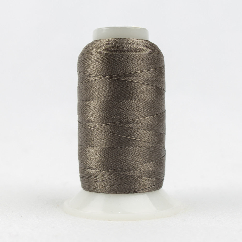 P4327 - 40wt Trilobal Polyester Smoke Grey Thread - wonderfil-online-uk