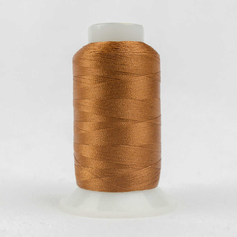 P4348 - 40wt Trilobal Polyester Golden Rust Thread - wonderfil-online-uk