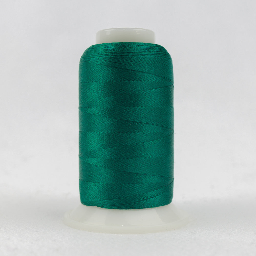P6495 - 40wt Trilobal Polyester Bright Aqua Thread - wonderfil-online-uk