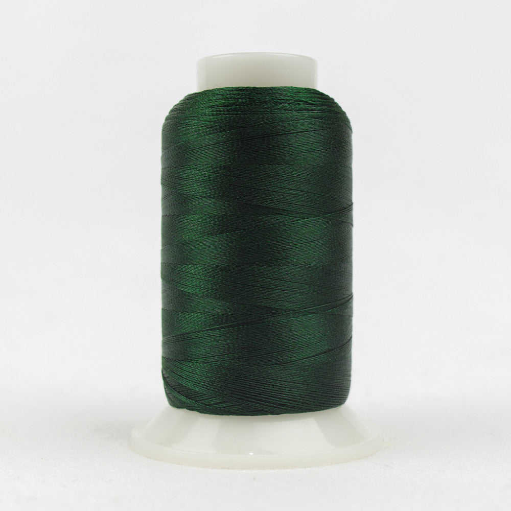 P6499 - 40wt Trilobal Polyester Dark Evergreen Thread - wonderfil-online-uk