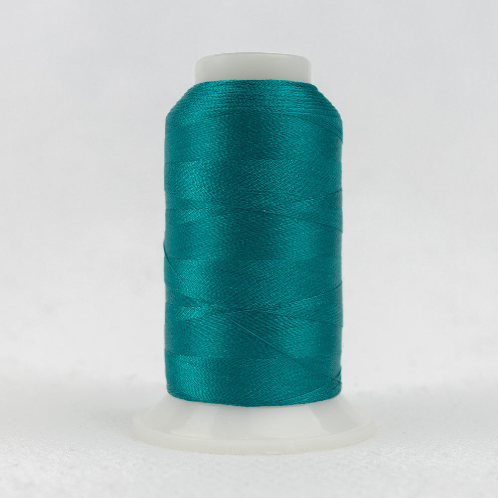 P6543 - 40wt Trilobal Polyester Pacific Blue Thread - wonderfil-online-uk