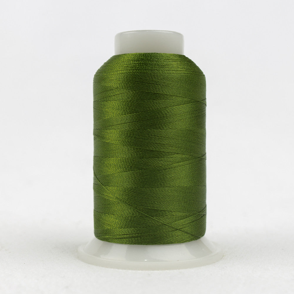 P6558 - 40wt Trilobal Polyester Dark Palmetto Thread - wonderfil-online-uk