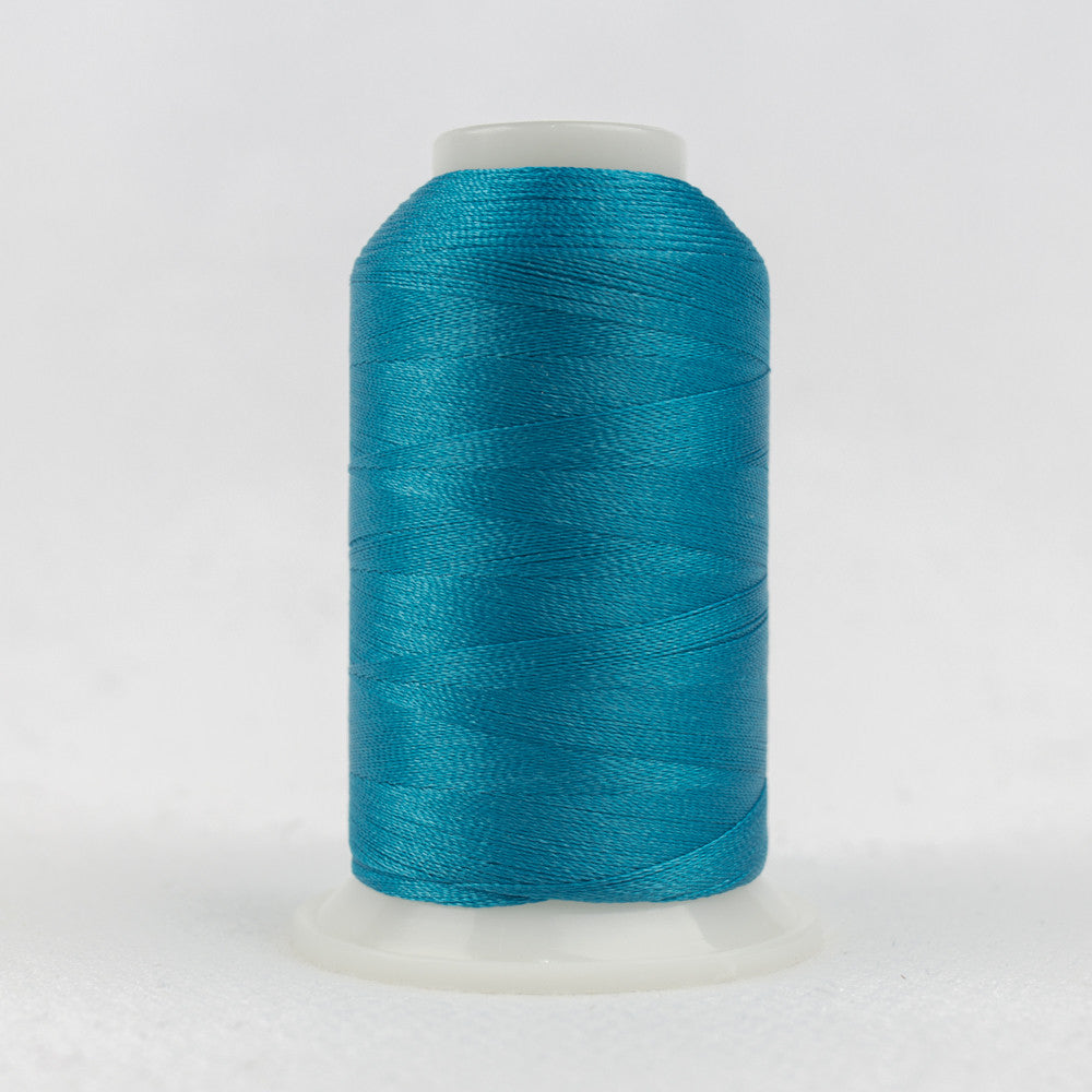 P6587 - 40wt Trilobal Polyester Bright Pacific Blue Thread - wonderfil-online-uk