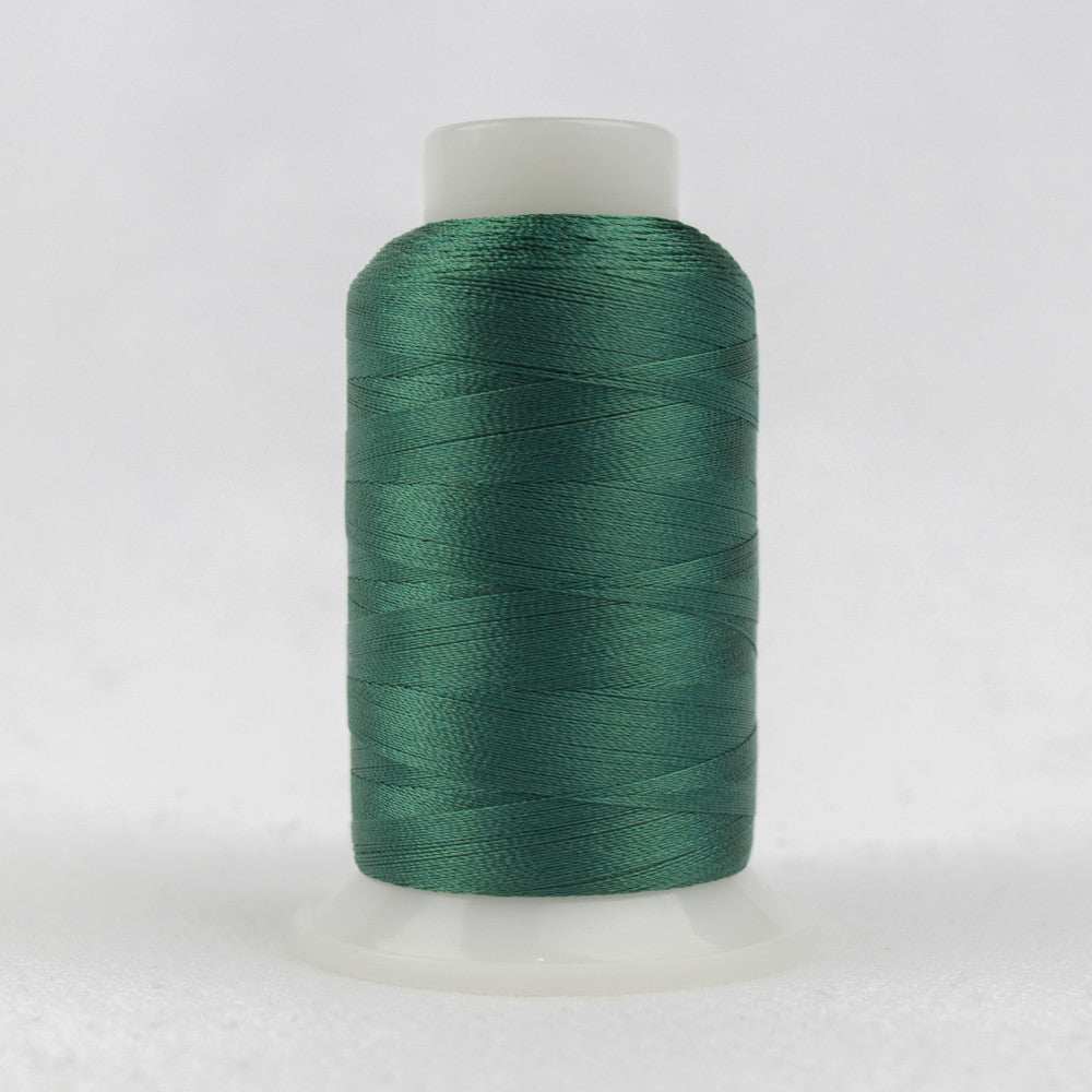 P6599 - 40wt Trilobal Polyester Exotic Green Thread - wonderfil-online-uk