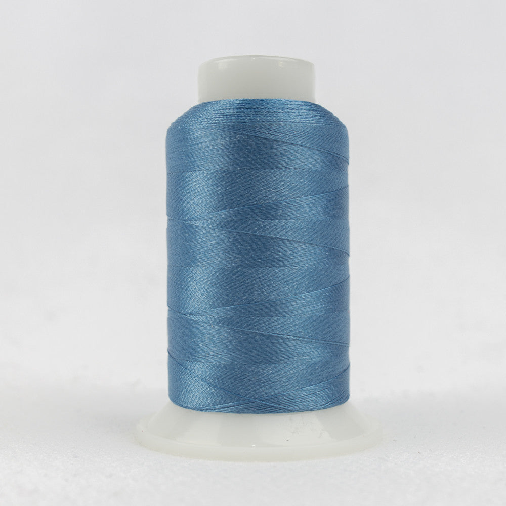 P9125 - 40wt Trilobal Polyester Air Blue Thread - wonderfil-online-uk
