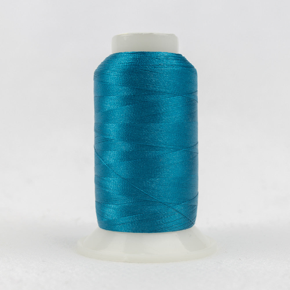 P9128 - 40wt Trilobal Polyester Vivid Blue Thread - wonderfil-online-uk