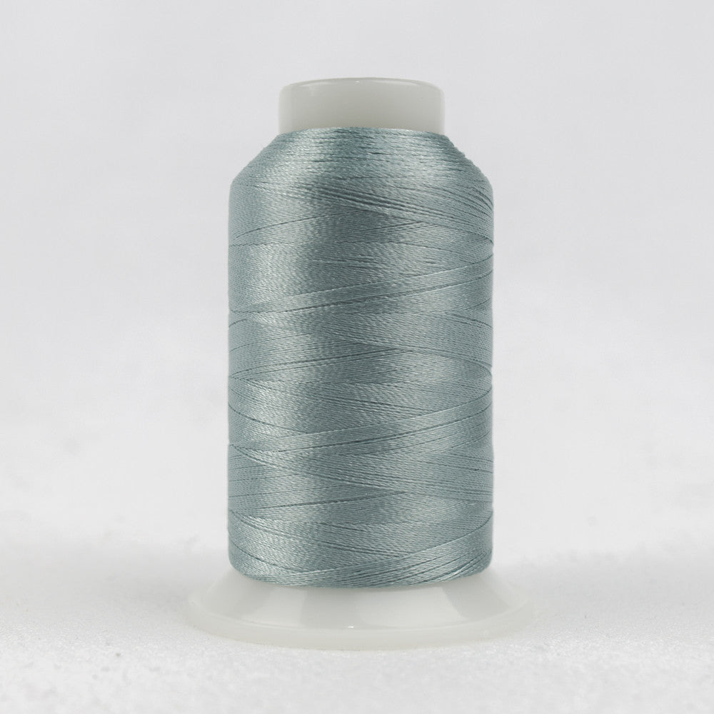 P9779 - Trilobal Polyester Silky Pink Smoke Blue Thread - wonderfil-online-uk