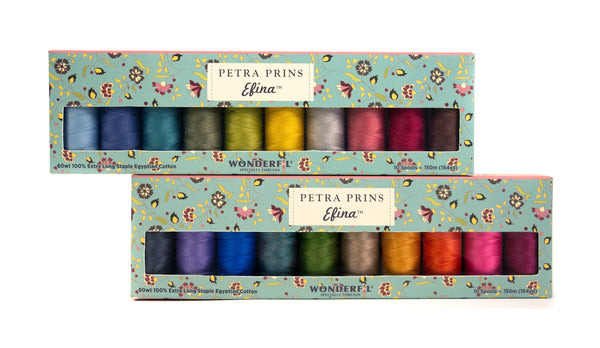Petra Prins Efina Packs - Egyptian Cotton Threads