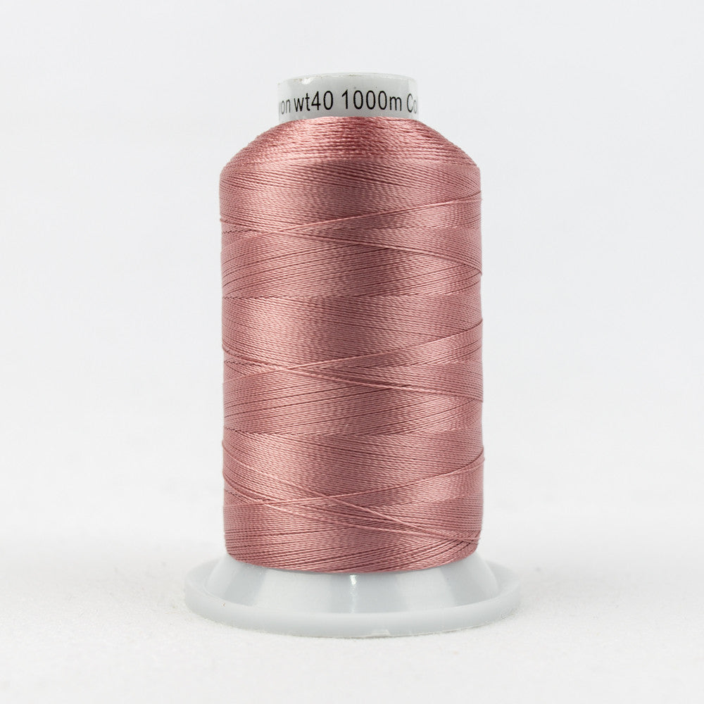 R1132 - 40wt Rayon Rose Tan Thread - wonderfil-online-uk