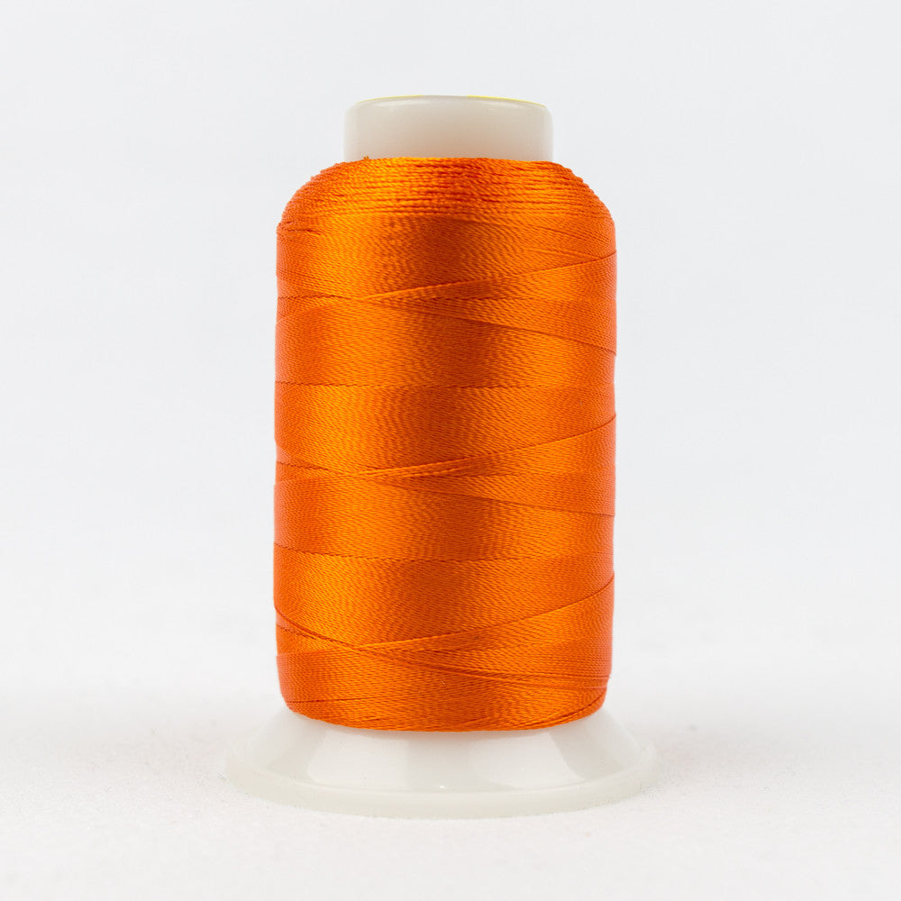 R1140 - 40wt Rayon Vermillion Orange Thread - wonderfil-online-uk