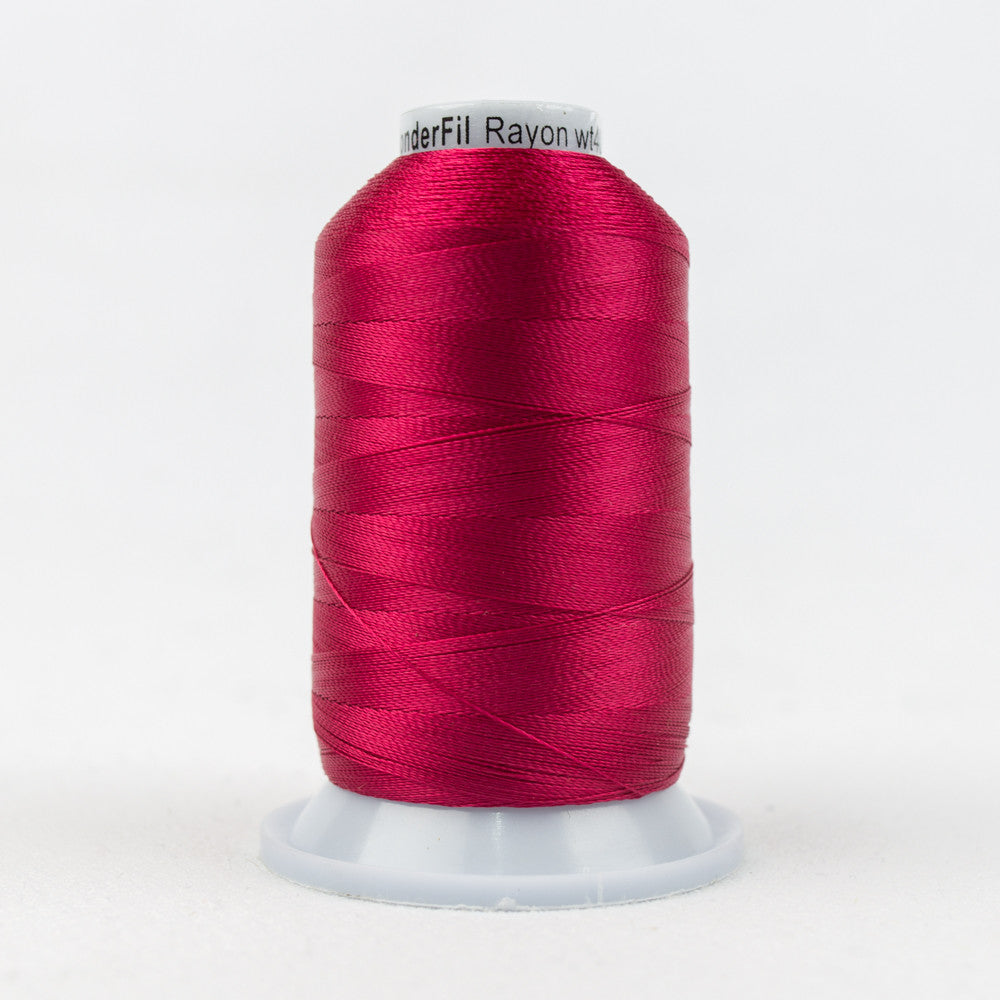 R1168 - 40wt Rayon Bright Rose Thread - wonderfil-online-uk