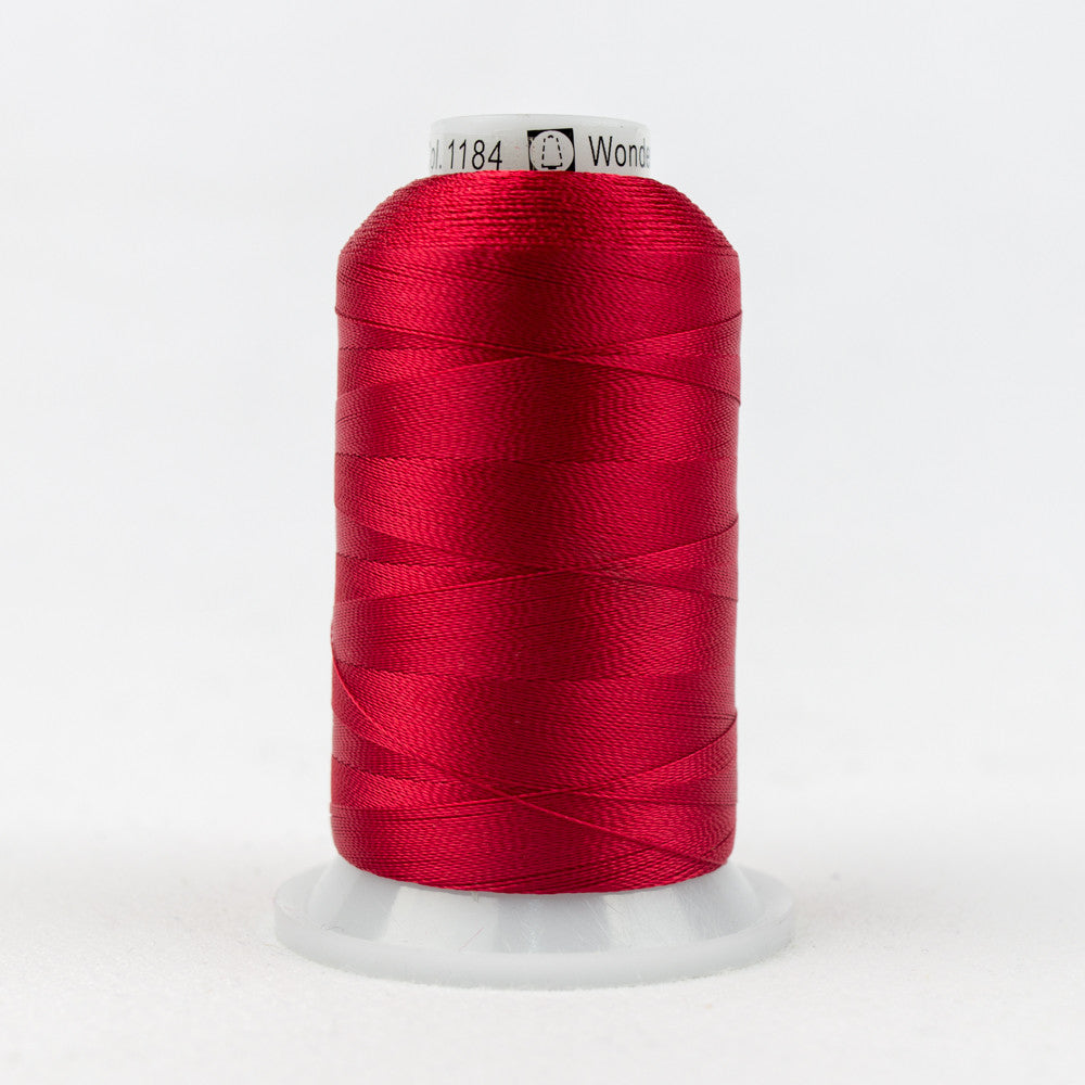 R1184 - 40wt Rayon Mars Red Thread - wonderfil-online-uk