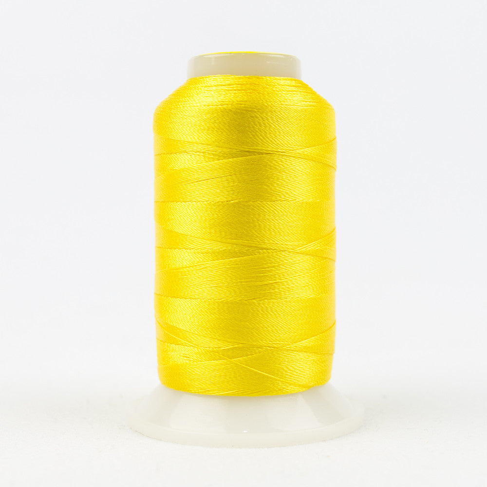 R2112 - 40wt Rayon Vibrant Yellow Thread - wonderfil-online-uk