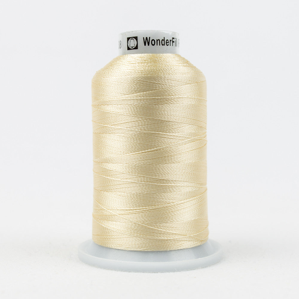 R2138 - 40wt Rayon Alabaster Gleam Thread - wonderfil-online-uk