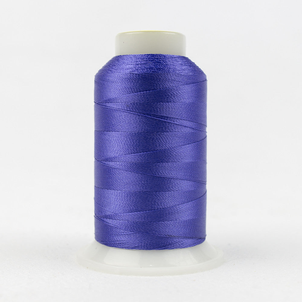 R3121 - 40wt Rayon Blue Iris Thread - wonderfil-online-uk