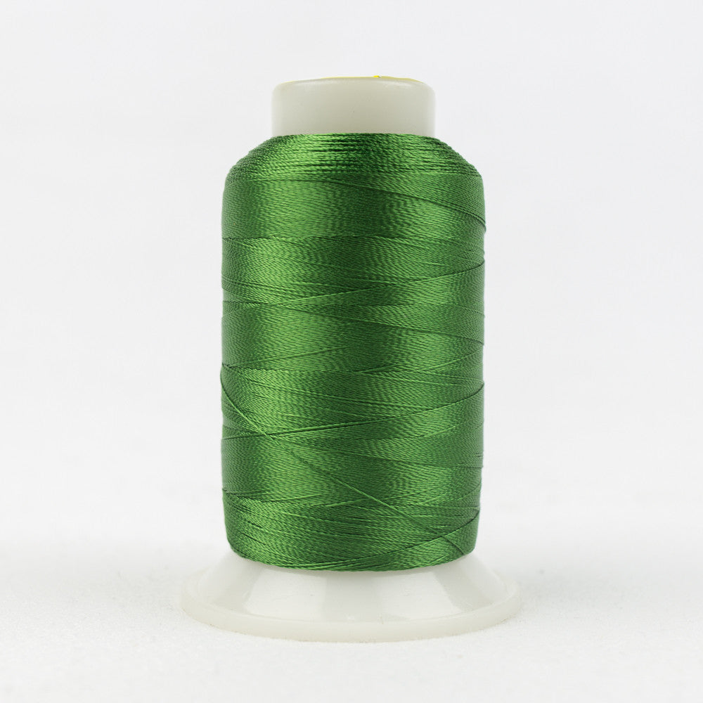 R4154 - 40wt Rayon Bright Green Thread - wonderfil-online-uk