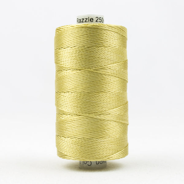 RZ1000 - Razzle 6ply Rayon Gold Thread - wonderfil-online-uk